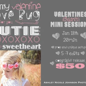 Valentines Mini Sessions